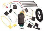 CQT118385 à 4 prises plates avec convertisseur à faisceau à batterie pour feux arrière de style usine