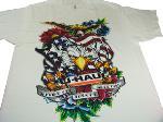 T-shirt aigle blanc