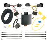 CQT118583 à 4 prises plates avec convertisseur à faisceau à batterie pour feux arrière de style usine