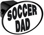 Couvercle de receveur d'attache de remorque - Soccer Dad