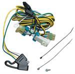 CQT118383 à 4 prises plates avec faisceau pour feux arrière de style usine
